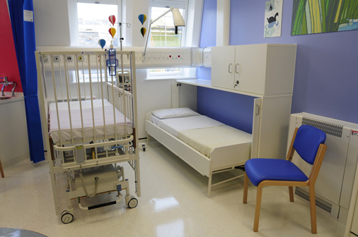 Alder Hey children's Hospital - 'Wiskaway'® 7500H Wallbeds on the paediatric oncology ward